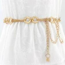 New Metal Chain Chain Style Li Fashion Metal Belts Women's Fashion Elegant 1pcs