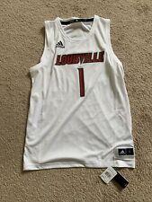 Louisville Cardinals Adidas Swingman Basketball Jersey New Size L