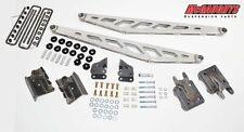 McGaughys Rear Traction Bars for Silverado 1500 2WD/ 4WD50018 Silver Powdercoat