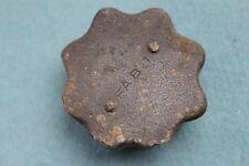 WW II German relic  original FAB 1  winter zink nut screw cap M24