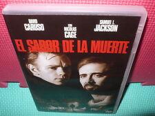 EL SABOR DE LA MUERTE - NICOLAS CAGE - JACKSON -  dvd