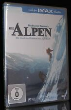 DVD DIE ALPEN - IMAX - GREG MAcFreeman - Mit Liedern und Musik von QUEEN * NEU *