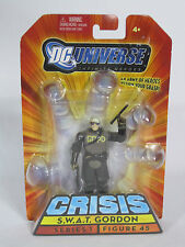 "S.W.A.T Gordan-DC UNIVERSE infinate EROI 3.75"" Action Figure-NUOVO IN SCATOLA"
