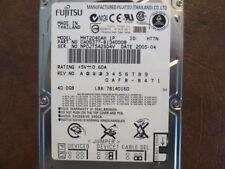 """Fujitsu MHT2040AH 1P (CA06377-B134000B) 846C 40gb 2.5"""" IDE/ATA Hard Drive"""