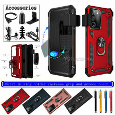Phone Case Magnetic Ring For Samsung Galaxy Note 20/Ultra (5G) Cover/Belt Clip