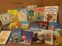 Lot of 10 ALL HARDCOVER Children Reading Books Bedtime-Story Time Kid MIX RANDOM