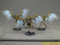 Warhammer WDS painted Stormcast Eternals Prosecutors with Celestial Hammers f76