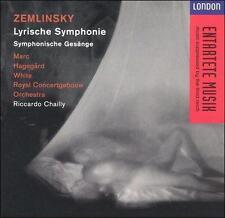 """Zemlinsky: Lyrische Symphonie; Symphonische Ges""""nge (CD, Nov-1994, London)"""