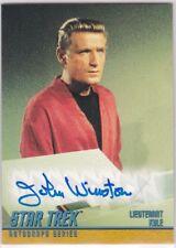 STAR TREK THE ORIGINAL SERIES SEASON 3 A63 JOHN WINSTON LT KYLE AUTOGRAPH
