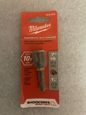 Milwaukee 49 66 4506 716 In X 1 78 In Magnetic Nut Driver