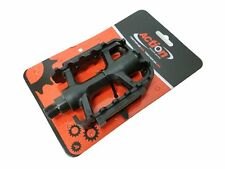 "Wellgo OEM LU-207 MTN 9/16"" Pedals Black For Road Mountain Bike Cycling Bicycle"