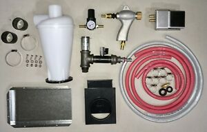 **Ultimate** BLAST CABINET UPGRADE KIT Harbor Freight - ALL 7 mods + hoses etc.