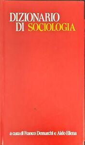 DIZIONARIO DI SOCIOLOGIA - PAOLINE 1976