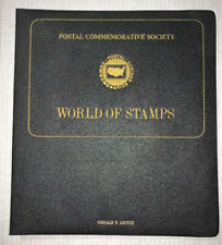 Postal Commemorative Society World Of Stamps Book - 9 Sheets Included
