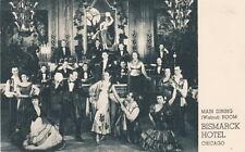 Bismarck Hotel ~ Chicago ~ Walnut Room Entertainers ~ c. - 1926