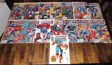Marvel Comics Captain America Vol. 2 Heroes Return 1st Prints #1-13