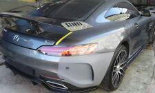 Fiberglass Wing w/ Lip Spoiler for Mercedes Benz AMG GT GTS