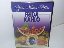 Great Women Artists: Frida Kahlo (DVD, All Regions, 2006) NEW - No Tax