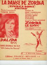 DALIDA THEODORAKIS - DANSE DE ZORBA - 1965 - TB ETAT -