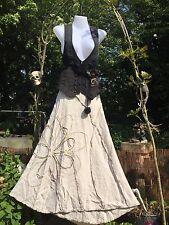 ECCENTRICO Bohemien Gypsy Gonna SELLINO Hitch Gotico Steampunk Lagenlook decorativi 12