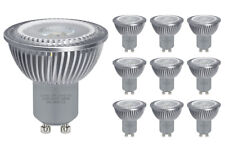 10 Pack 6W GU10 LED High Power Warm White Replacement for Halogen Spotlights