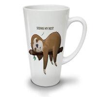 Funny Animal Sloth NEW White Tea Coffee Latte Mug 12 17 oz | Wellcoda