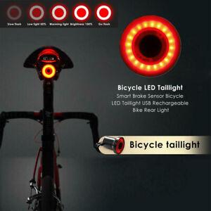 Xlite100 USB Fahrrad Rücklicht Smart Sensor Rücklicht Warnlicht Wasserdicht