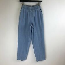 Chic Jeans - Elastic Waist Relaxed Fit Light Blue - Tag Size 10P (23x26.5) #5034