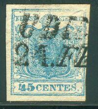 Lombardei Venetien Nr. 5 X a Type I Plattenfehler Befund BPP