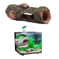 Tree Bark Hollow Log Fish Cave Reptile Decoration Aquarium Fish Tank Ornaments