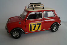 KYOSHO voiture miniature 1:18 Mini Cooper Morris Nº 177 rallye Monte Carlo