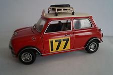 Kyosho maqueta de coche 1:18 Mini Cooper morris nº 177 Rally de Monte Carlo