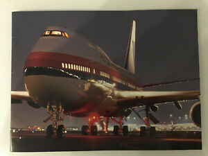 UNITED AIRLINES 1990s PROFILE BROCHURE B747 DC10 CABIN CREW ROUTE MAP