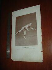 1913 M113 Baseball Magazine Large Premium Insert Jack Barry