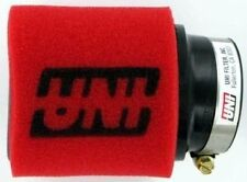 """UNI 2-Stage 15° Angled, 2.25"""" ID,4"""" Long Clamp-On Pod Motorcycle ATV Air Filter"""