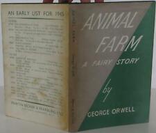 George Orwell / Animal Farm First Edition 1945 #1803057