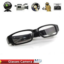HD 720P Glasses Spy Camera Hidden Eyewear Cam Camcorder DVR Video Recorder DV