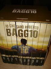 BOX COFANETTO 10 DVD HISTORY IO CHE SARO' SARò ROBERTO BAGGIO NEW SEALED