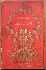 Comolet - Les quatre - Gravures sur bois éd. Gaillard Littérature jeunesse XIX s