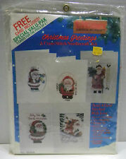 Titan Needlecraft Christmas Greetings Card Assortment Kit #09409 1990 NEW