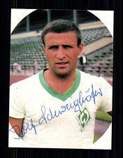 Rolf Schweighöfer Werder Bremen Eikon SB Sign.