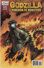 GODZILLA KINGDOM OF MONSTERS - #4-5,8,11-12 - ERIC POWELL SCRIPTS - 2011