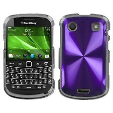 Purple Cosmo HARD Case Snap on Phone Cover for Blackberry Bold 9930 9900