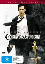Constantine (DVD, 2005, 2-Disc Set) Keanu Reeves - Free Post!