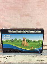 Wireless Electronic Pet Fence System Kd-661 *Read*