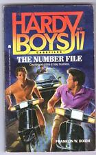 THE NUMBER FILE  Franklin W Dixon Hardy Boys Casefiles No 17 good condition