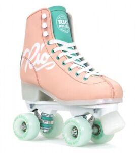 Rio Roller Script Quad Skates Peach Rollschuhe Roller Skates neu & ovp