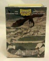 Dragon Shield Art Card Sleeves Hunters Snow Classic Standard 100 Box Sealed NEW