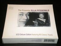 The Essential Ella Fitzgerald - 3 CD's Album - 60 Tracks - 2003 Union Square UK