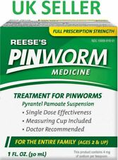 Reese's Pinworm Medicine Treatment Pin Worm 30ml Liquid Thread - 02-2021